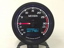 60mm MESSEN Digital 7 Function 7 Color peak turbo Boost gauge 37psi