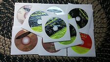 10 CDG LOT 1950'S-1970'S OLDIES KARAOKE CD+G - QUEEN,MONKEES,BILLY IDOL 12e