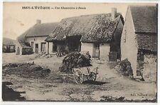 CPA 71 - ISSY L'EVEQUE (Saône et Loire) - Une Chaumière à Rouée