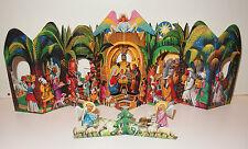 Kubasta - Bethléem crèche nativité nativity - livre pop-up animé, neuf !