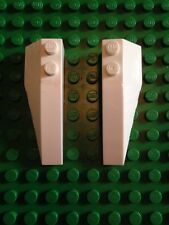 LEGO STAR WARS ~ V-19 TORRENT 7674 - WHITE ANGLE SLOPE Part: 4160124/4160101