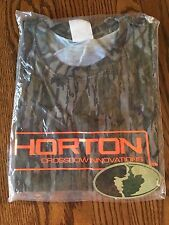 MOSSY OAK TEN POINT HORTON CROSSBOW INNOVATIONS XL CAMO T-SHIRT (NEW WITH TAG)