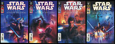 Star Wars Episode 2 Attack of the Clones Comic Set 1-2-3-4 Lot Movie Art Covers