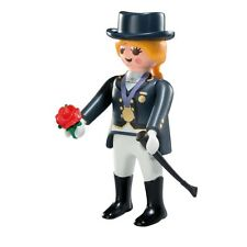 Playmobil Mystery Figure Series 7 5538 Equestrian Horse Jockey Winner Rider Rose