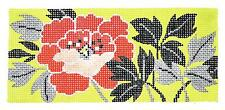 *NEW* Red Peony Flower handpainted Needlepoint Canvas by LEE ~ BB Insert
