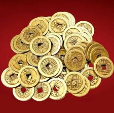 FD3827 Feng Shui Lucky Chinese Fortune Coin Oriental Emperor Qing Money 10PCs