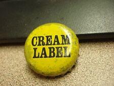 Cream Label - Canada - Canadian Plastic Lined Beer Cap