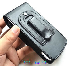 New Black Leather Belt Clip Holster Cover Pouch Case for Apple iPhone 5 5G 5S 5C