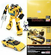 Transformers Masterpiece badcube sunsurge Altrimenti detto MP sunstreaker NUOVO IN SCATOLA SIGILLATA