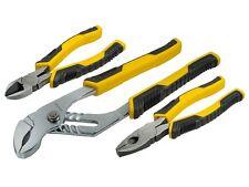 Stanley STA074471 Control Grip alicates Conjunto de 3 STHT 0-74471 Nuevo