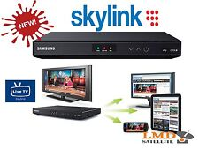 NEW Skylink SAMSUNG EVO-S*FULL HD*Twin tuner DVB-S2*HYBRID*SYLINK LIVE TV*BANAXI