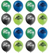 "16ct Unique Jurassic World Dinosaurs Birthday 12"" Latex Balloons Party Supplies"