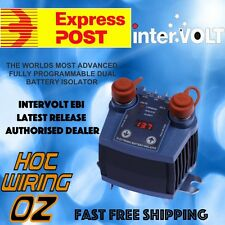 INTERVOLT EBI PROGRAMMABLE 100A 500A PEAK DUAL BATTERY ISOLATOR SYSTEM SBI12