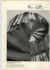 1963 Spiral Staircase, Offices In Belfast, Ian Campbell Architect