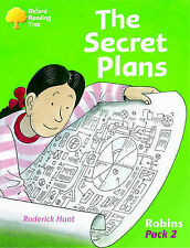 Hunt, Roderick Oxford Reading Tree: Robins: Pack 2: the Secret Plans Very Good B