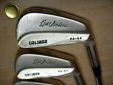 r RARE Beauty NOS Orlimar KEN VENTURI Irons 3-PW Steel Shaft RH-R