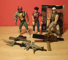 Vintage 1992 Aliens 3 Action Figures w/Weapons Kenner