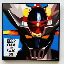 Mazinger Z Anime canvas quotes wall decals photo painting framed pop art poster