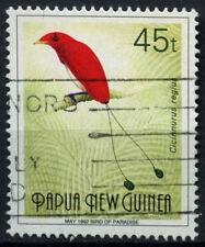 """Papúa Nueva Guinea 1991-3 SG#643, 45t las aves del paraíso"""" 1992"""" de mayo de #D44858 Usado"""