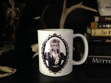 LABYRINTH COFFEE MUG! 80s goblin king david bowie fantasy movies vtg jareth mugs
