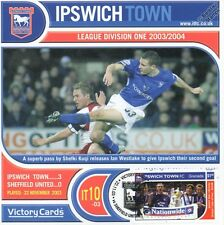 IPSWICH TOWN 2003-04 Sheffield U.(Ian Westlake) Football Stamp Victory Card #310