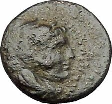 ALEXANDER III the GREAT 336BC RARE Quarter Unit Small Ancient Greek Coin i47316