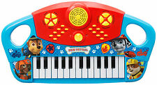 PAW PATROL LARGE MUSICAL PIANO KEYBOARD 25 KEYS CHILDRENS KIDS TOY INSTRUMENT