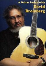 A Guitar Lesson With David Bromberg Learn to Play Folk blues Jazz Music DVD