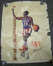 Harlem Globetrotters Burger King Poster, 1976, Meadow Lark Lemon!