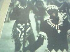 magazine picture 1966 masquraders from kalibo imitate negritos panay island