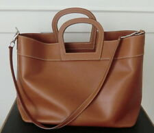 Original RALPH LAUREN large beige leather Handbag/Hand Tasche