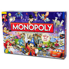 Disney Theme Park Edition III Monopoly Game Disneyland NEW! FREE SHIPPING!