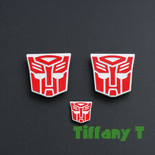 3PCS Transformers MPP10 Optimus Prime + Trailer Logo Symbol Decal Emblem MP10