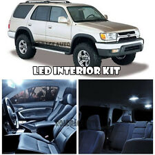 95-02 Toyota 4Runner 4 Runner White Interior LED Light Bulb Kit + Mirror Vanity
