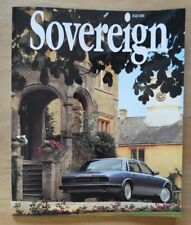 JAGUAR SOVEREIGN orig 1993 International Magazine Brochure - Edition 9