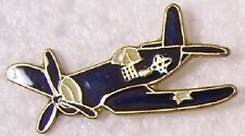 Hat Tie Tac Pin Airplane F-4 Corsair NEW black