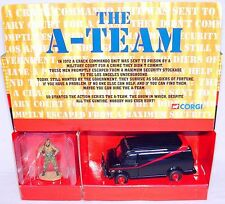 "Corgi Toys 1:43 ""THE A-TEAM"" BA BARACUS GMC VAN TV Movie Model Car 87502 MIB`01!"