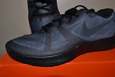 NIKE MENS ZOOM SPEED TR~ SIZE 8.5 (630855 001) GREY AND BLACK~BRAND NEW IN BOX !