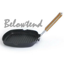 Nonstick Folding Fry Pan Maker Frying Breakfast Steak Skillet Hot Sale Salable O