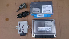BMW E46 3 SERIES 330i ENGINE ECU,G/BOX ECU EWS BOX IGNITION & DOOR LOCK + KEY