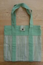 STERCK Shopper Bag Green Canvas  S904