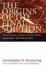 The Origins of the Final Solution: The Evolution of Nazi Jewish Policy, Septembe