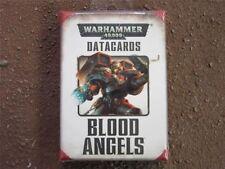 Blood Angels Datacards BNIB New Games Workshop Warhammer 40k WH40K OOP