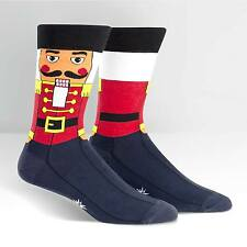Sock It To Me Men's Crew Socks - Nutcracker