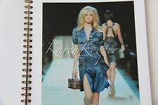 LOUIS VUITTON SPRING 2004 VIP LOOK BOOK CATALOG PRESS MODELS BAGS RARE