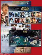 2015 STAR WARS SET and MINI SHEET PRESENTATION PACK No 518