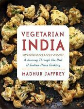 Vegetarian India: A Journey Through the Best of Indian Home Cooking-ExLibrary