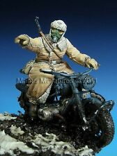 MANTIS MINIATURE GERMAN MOTORCYCLIST EASTERN FRONT WWII Scala 1/35 Cod.35029