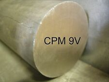 "CPM 9V 5/16 X 12"" ROUND ALLOY TOOL STEEL STOCK FOR SOUTH BEND LATHE CNC MACHINE"