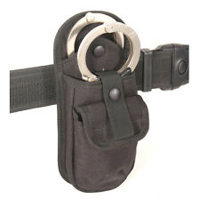 H7 Protec Police new black double hand cuff holder